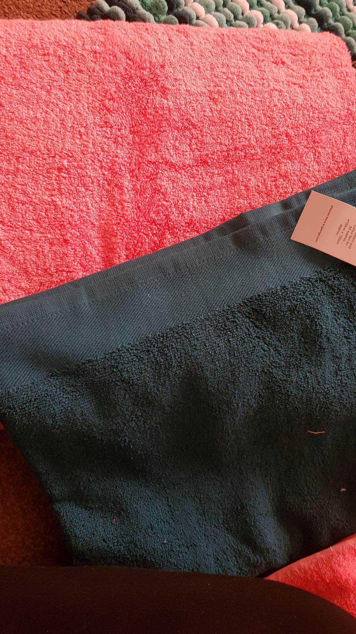 Bath sheets , shower curtains 75p @ Asda instore