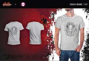 Tekken Heihachi Mishima T-Shirt £2.86 delivered @ ShopTo