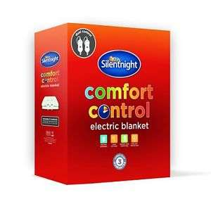 Silentnight Dual control electric blankets with 3 year guarantee double £32.99 / king size £34.99 delivered @ eBay branded_bedding
