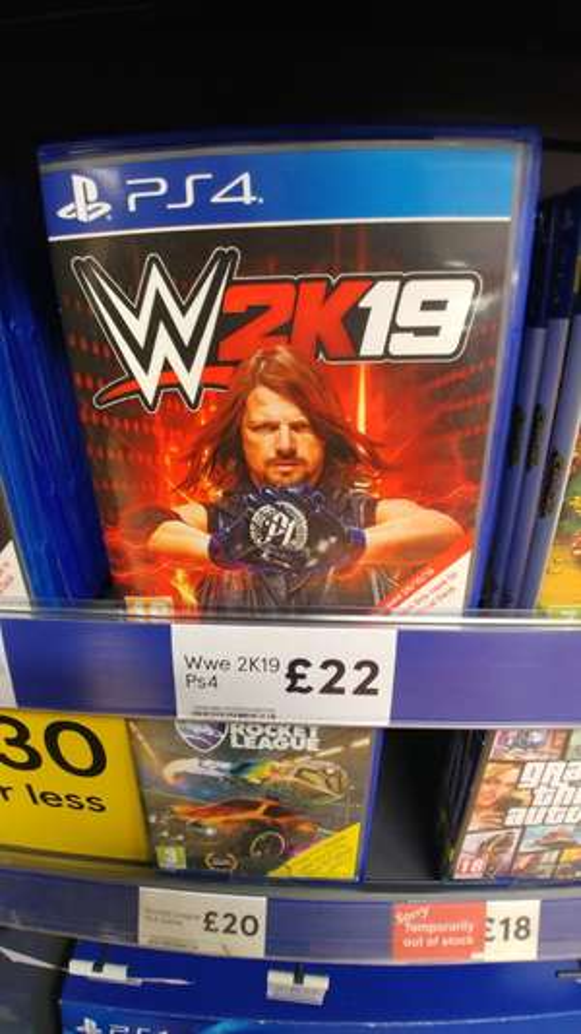 WWE 2K19 PS4 & XBox Tesco - £22 instore (Birmingham)
