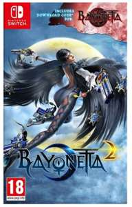 BAYONETTA 2 + Download code for Bayonetta (Nintendo Switch) for £30.95 Delivered @ TGC