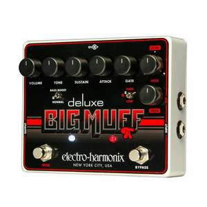 Electro-Harmonix Deluxe Big Muff Pi Guitar Distortion and Sustain Pedal £87.01 delivered @ Juno records
