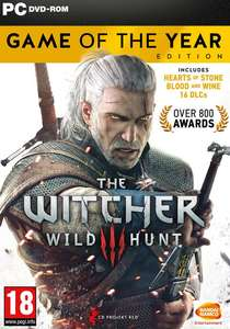 The Witcher 3: Wild Hunt - Game of the Year Edition (PC) £10.59 @ GoG
