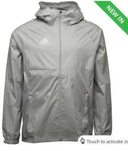 adidas Mens Tiro 17 Rain Jacket £21.99 size S up to XXXL @ M&M Direct p&p £4.99 or Free with Premier