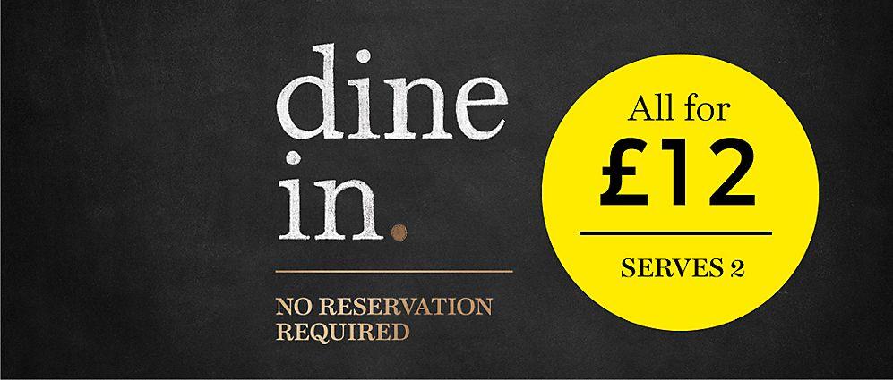 M&S Dine in for £12 is back (starter, main, dessert and beverage)