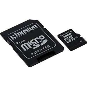 Kingston SDCS/64 GB MicroSD, Amazon Prime Exclusive - £8.16