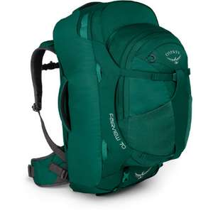 Osprey fairview 70 litre forest green backpack - £60.09 (with code) @ Wiggle