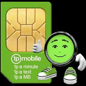 Cheap PAYG deal for low users - £10 initial cost for £15 worth of credit (with code) @ 1p Mobile