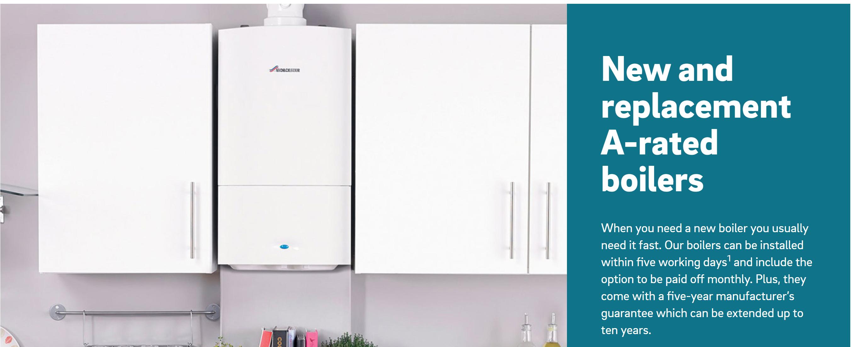 EON Boiler install - 0% interest for 1,2,3 years