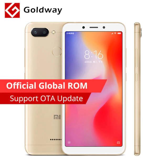 Xiaomi Redmi 6 3GB RAM 32GB ROM global ROM £77.87 delivered @ aliexpress
