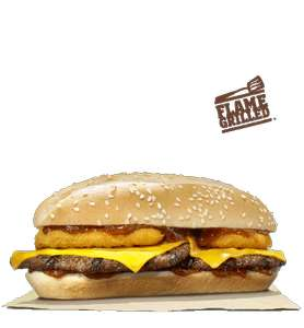 Long Big King and Fries or Long Texas BBQ Burger and Fries Only £1.99 via Burger King App