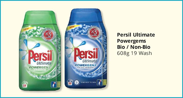Persil Powergems - 19 Wash - Bio/Non-Bio - £2.49 @ Savers (Instore)