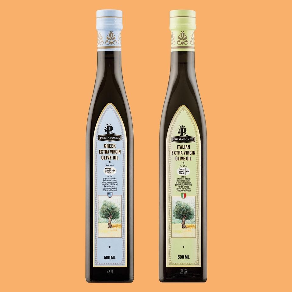 Greek (or Italian) Extra Virgin Olive Oil 500ml for £1.49 @ LIDL