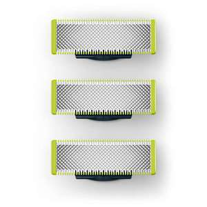 Trim, edge, shave Replaceable blade 3 pack, £24.40 with code delivered at Philips