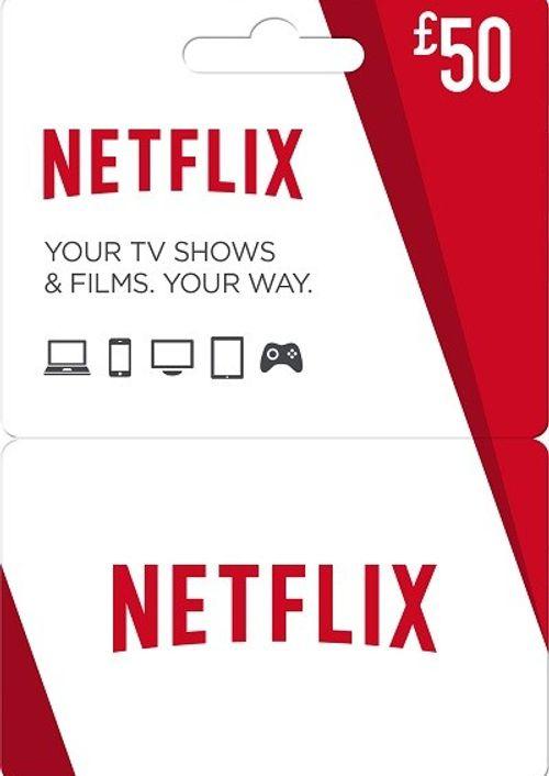 £50 Netflix Gift Card - £47.99 at CD Keys  - 6 Months of Netflix