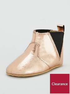Jessica Baby Chelsea Boots - Metallic (was £10) Now £4.00 C&C at Very
