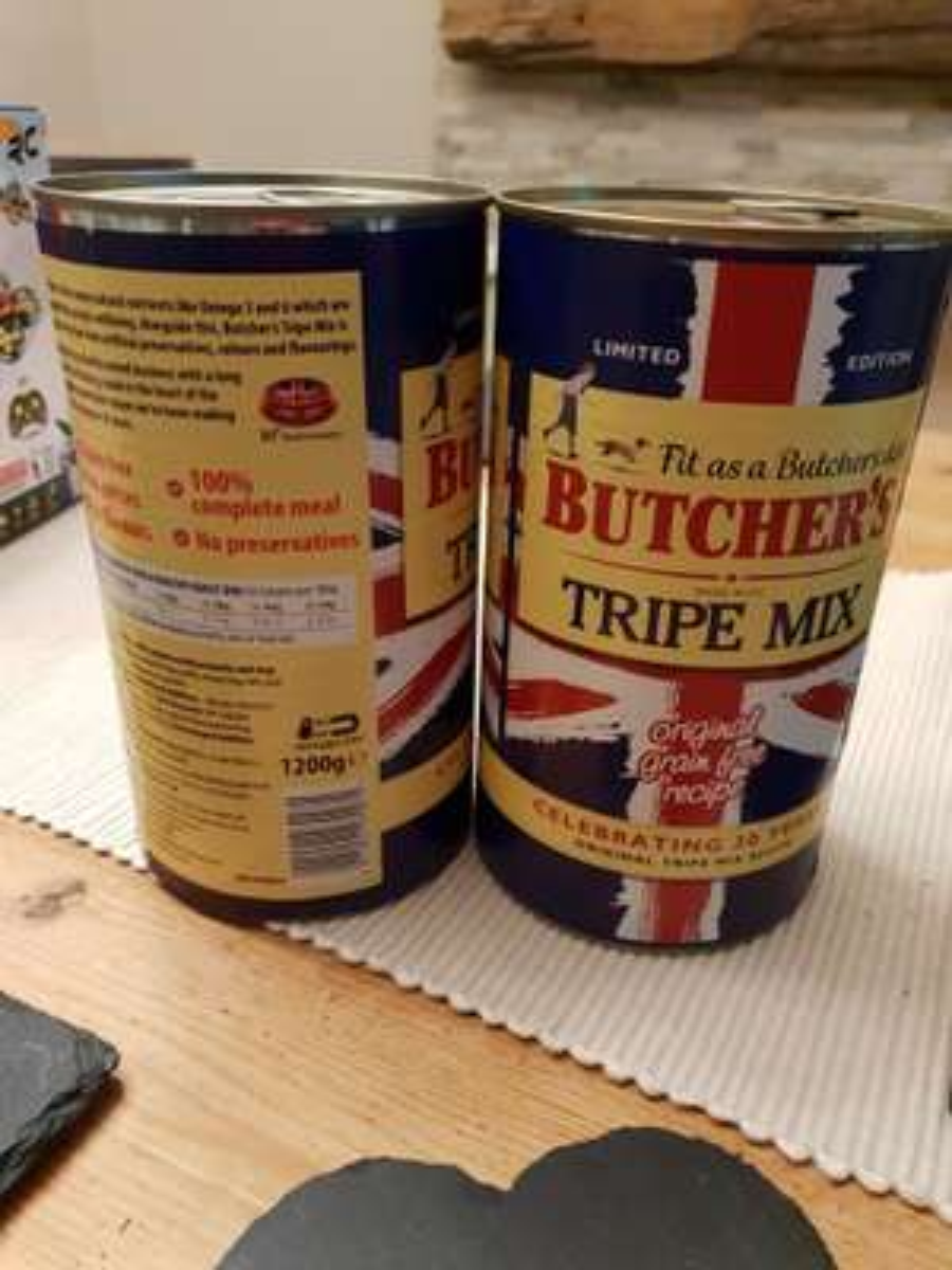 Butcher's Tripe Mix Dog Food 1200g - £1 instore @ Morrisons