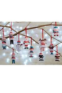 Personalised Family Christmas Decoration 49p @ Studio