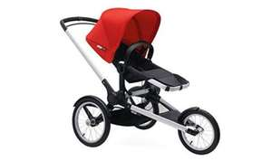 Bugaboo Runner Complete Pushchair (Black/Red) or (petrol/Black) now £466.50 with 3yr warranty @ amazon