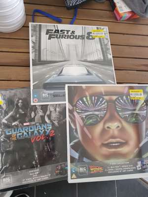 Big Sleeve edition of Films £3 - in-store e.g Back To The Future Trilogy @ Tesco