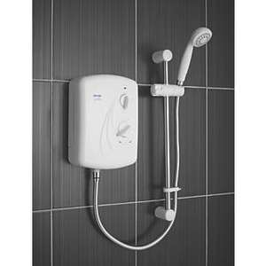 TRITON ENRICH WHITE 8.5KW MANUAL ELECTRIC SHOWER £43.99 @ Screwfix