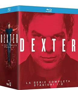 Dexter: Season 1-8 Box Set (32 Blu-Ray) £29.90 (£27 with Fee Free card) delivered @ Amazon Italy