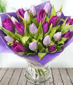 Simply Tulips Suitable for any occasion Next available delivery on  28. January was £30.99 - £15.99 + Service Fee - £5.50 @ eflorist