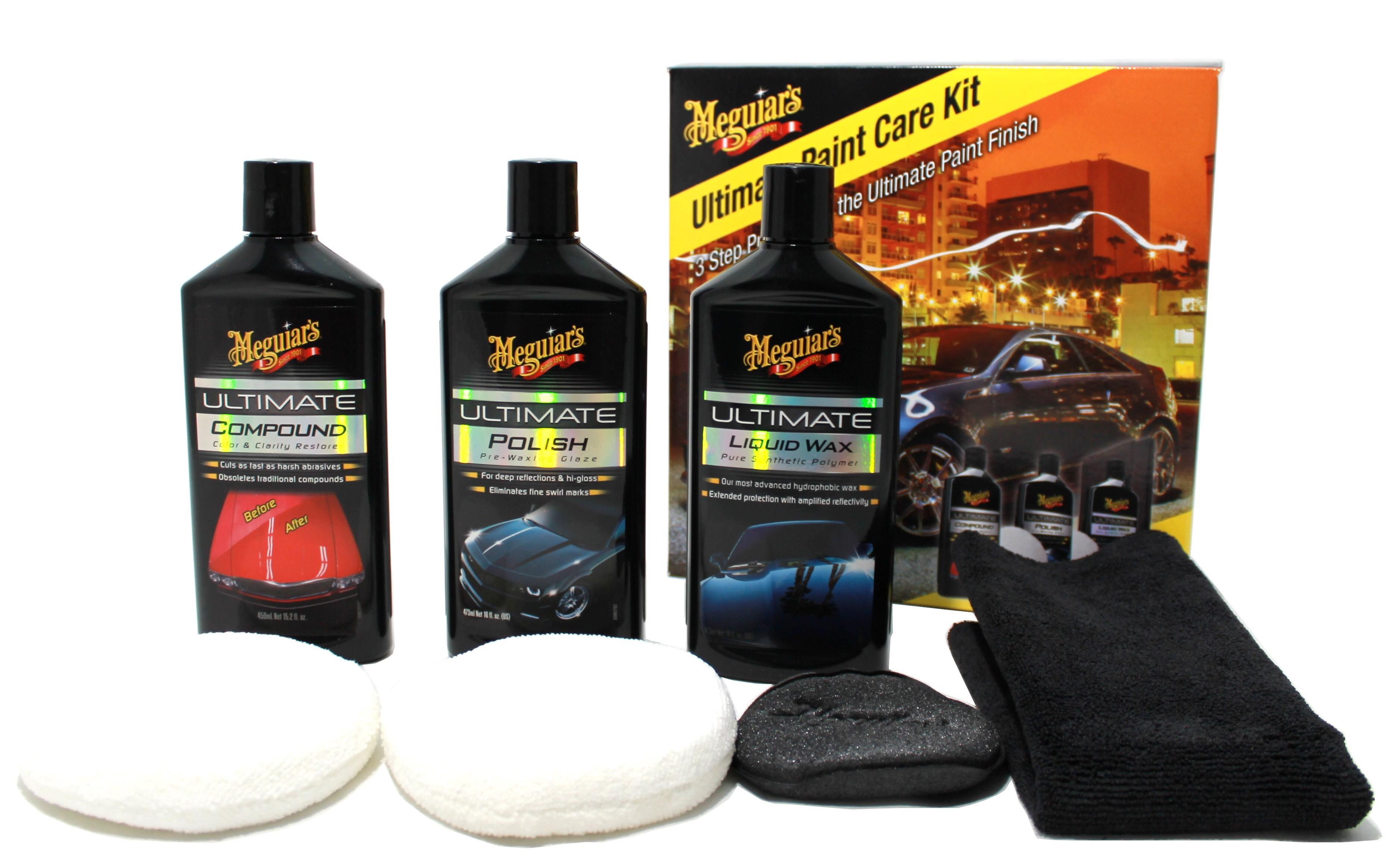 Meguiars Ultimate Paint Kit £36 @ Halfords