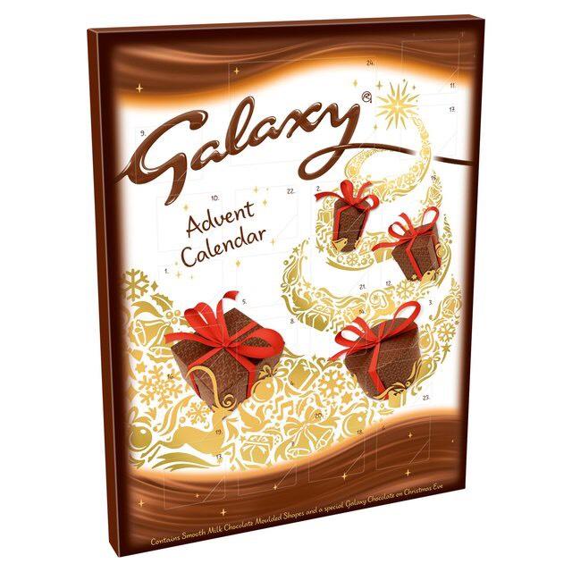Galaxy Milk Chocolate Advent Calendar 110g Click & Collect @ Sainsbury's for 25p