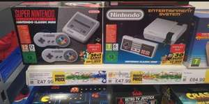 Nintendo classic mini with 30 games Doncaster smyths - £47.99