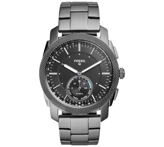 Fossil Q Machine Hybrid Men's Stainless Steel Smart Watch-Half Price £88.99 @ Argos