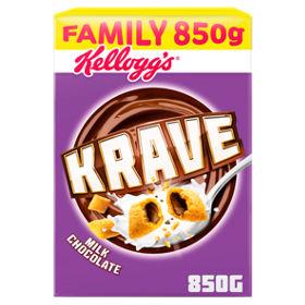 Kellogs Krave 850g Box £3 @ Asda