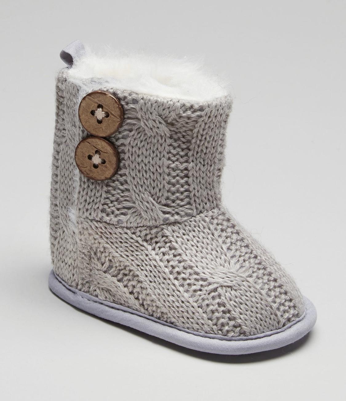 Unisex Soft Sole Baby Boots (Newborn-18mths 3 colours) £2.50 free c+c @ matalan