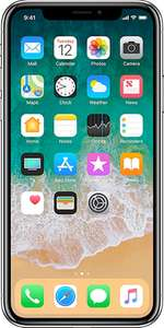 Iphone x 64 gb with 30gb on ee  £33.00 p/m @ affordable mobiles £1060 (£268 upfront)