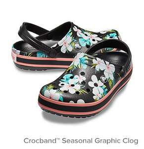 Crocs 40% off when you buy 2 pairs and free delivery