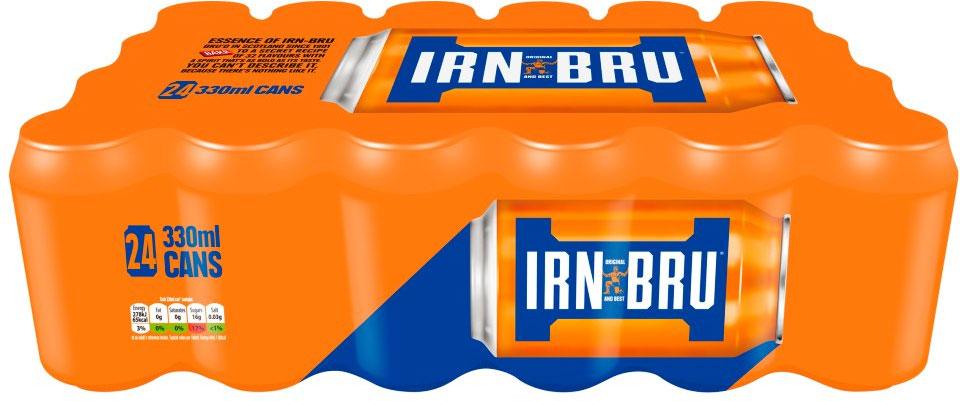 Irn Bru 24 Cans £6 asda instore