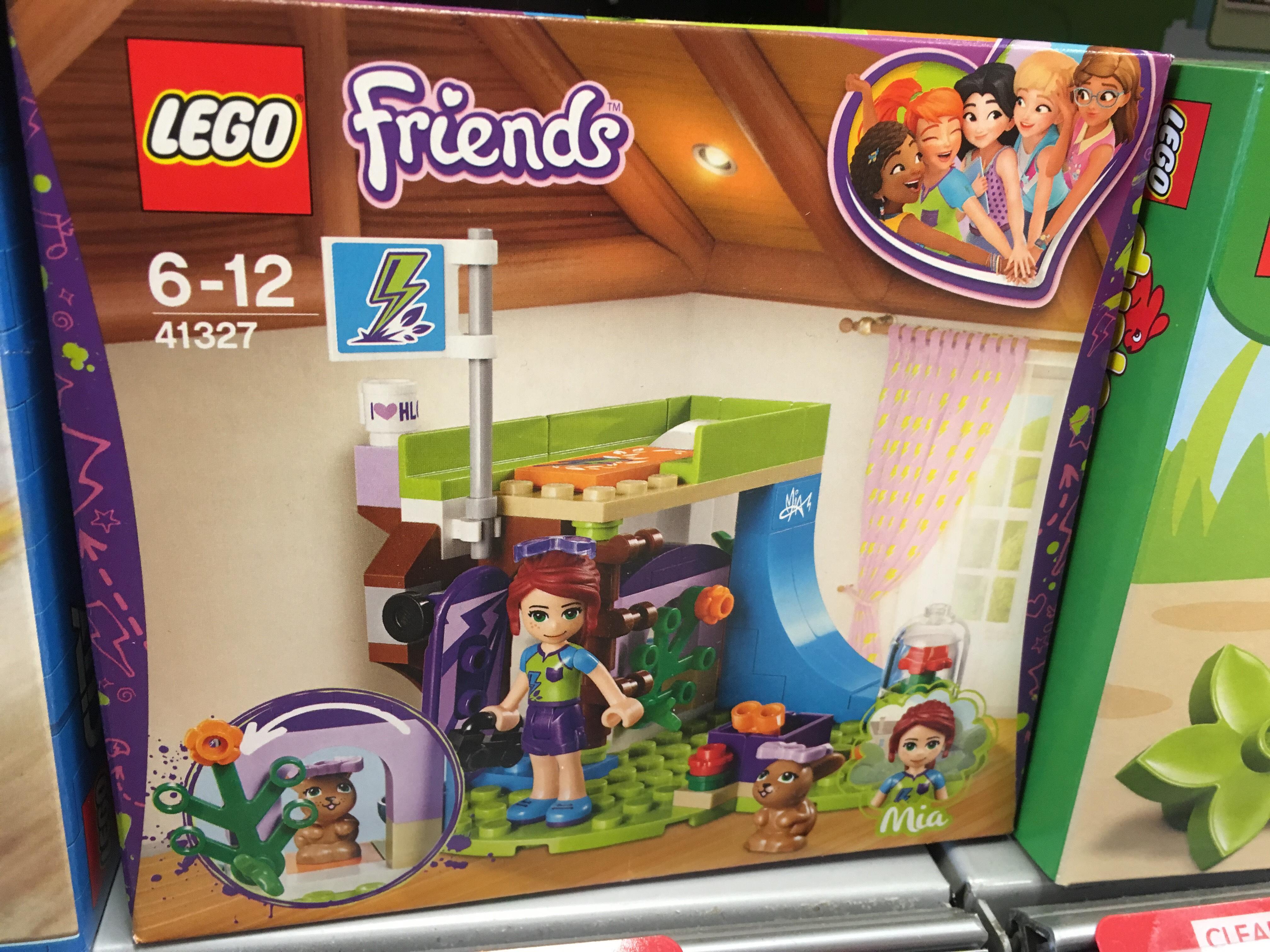 Lego Friends 41327 Mia Bedroom set - £6.30 INSTORE @ COOP in NORTON