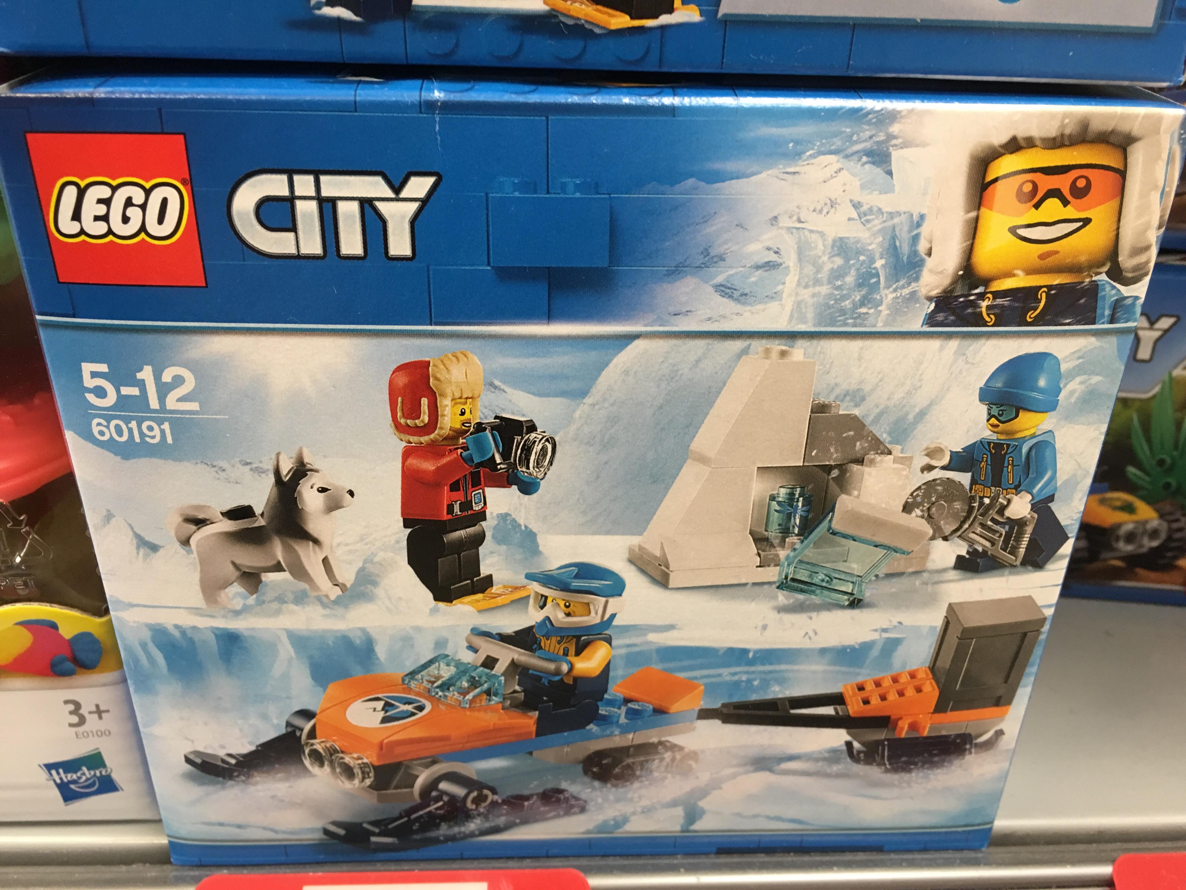 INSTORE @ COOP in NORTON - Lego 60191 City Arctic Expo Team £8