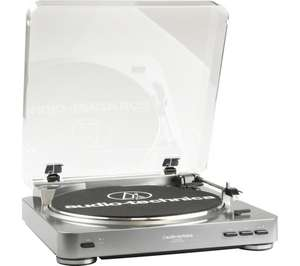 AUDIO TECHNICA AT-LP60 USB Belt Drive Turntable at Currys for £79