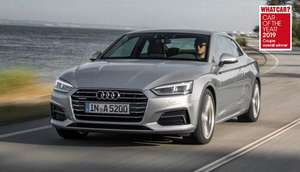 Audi A5 Coupe 35 TFSI S Line 2dr S Tronic [2019] - 24 month lease with 8k miles - £8109 (£337 per month) @ Select Car Leasing