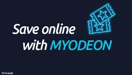 10% off Odeon Tickets online with MyOdeon membership