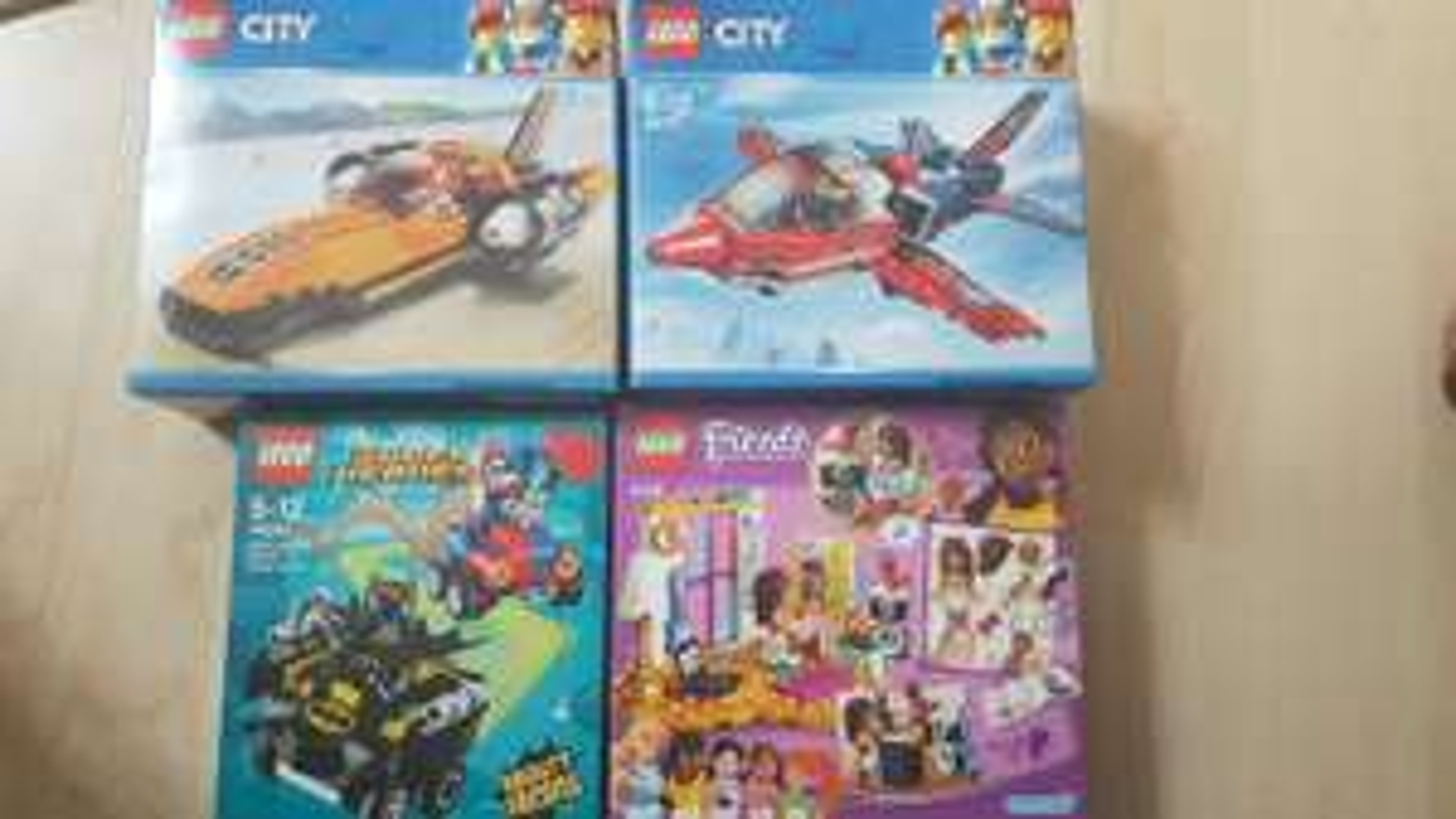 Various lego sets - 60177, 41341, 76092, 60178 scanning at £2.50/£3.50 sainsburys instore