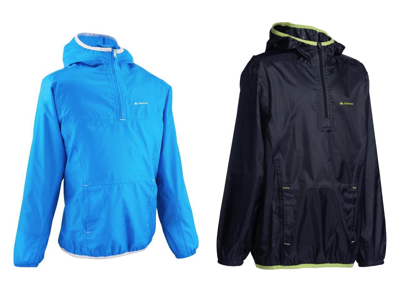 Quechua Hike 100 Boy's Waterproof Jacket - Navy Blue / Black now £2.99 @ Decathlon (Free C&C)