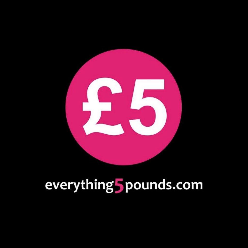 Big sale 50% off @ Everything5pounds.com