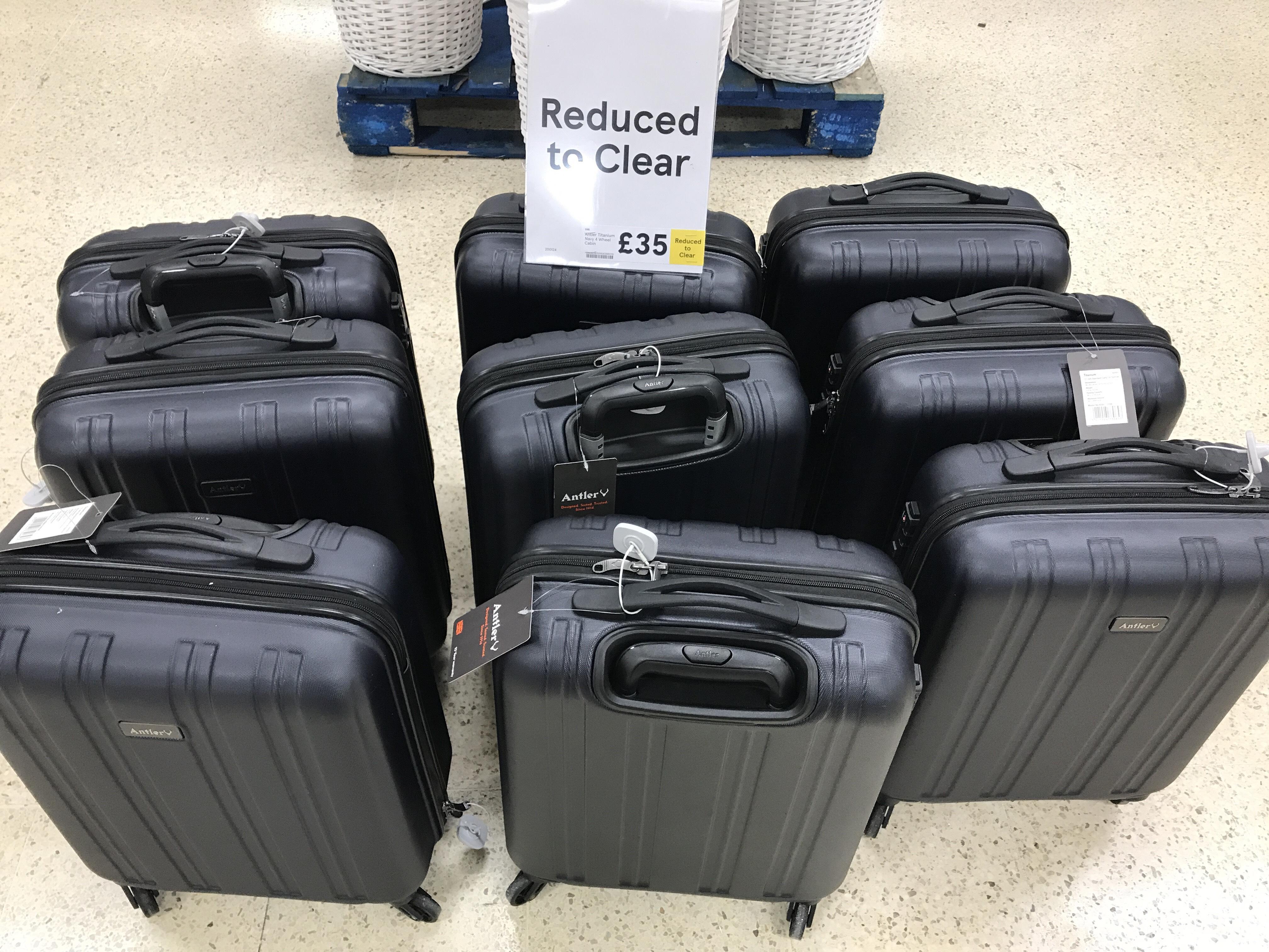 Antler Titanium Exclusive 4 Wheel Cabin Luggage - £35 @ Tesco In-store (Fforestfach)