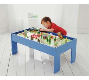 Chad Valley Wooden Table and 90 Piece Train Set £39.99 @ Argos CLICK & COLLECT