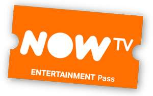 12 months Now TV Sky Entertainment pass £45 @ Now TV
