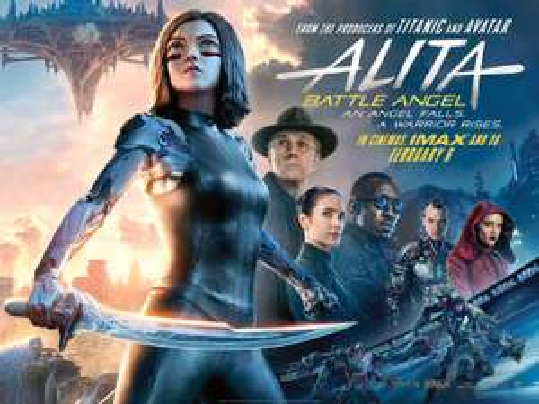 Alita Battle Angel - Free Cinema Tickets - 31st January 2019