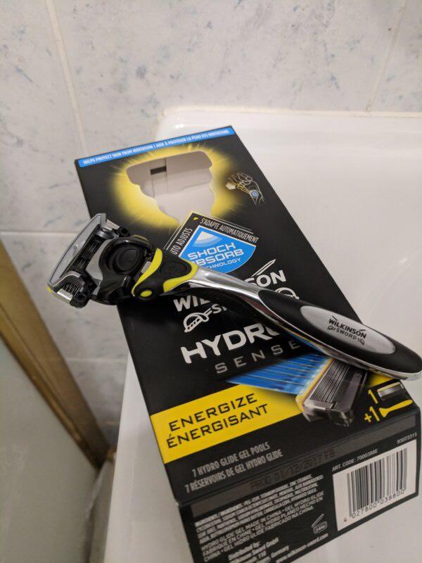 Free Wilkinson Sword Hydro Sense 5 Razor