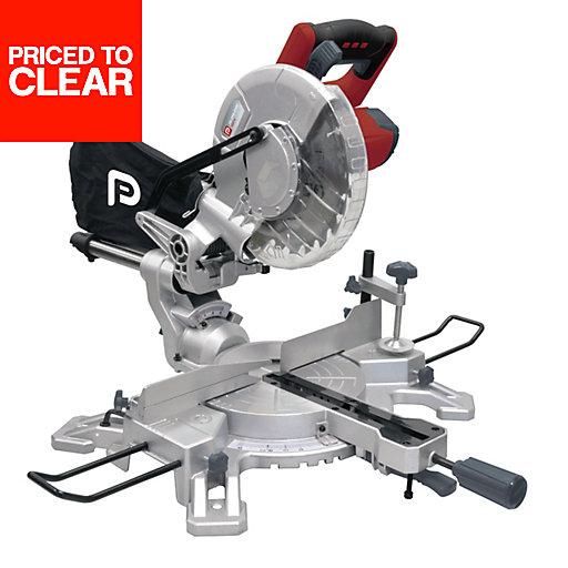 Performance Power 1500W 240V 210mm Sliding mitre saw - now £50 @ B&Q